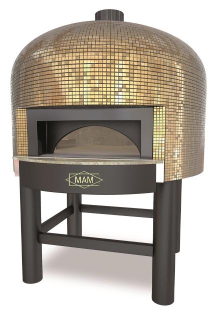Pizzaoven Napoli goud