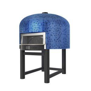Blauwe steenoven napoli pizzaoven
