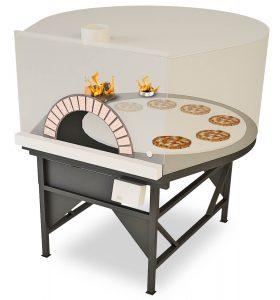 Combi Gas en houtgestookte pizzaoven