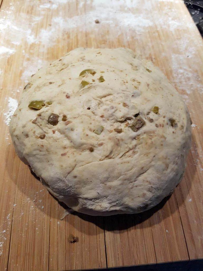 deeg voor olijfbrood recept