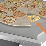 Pizza steenoven ondervloer brander bakoven